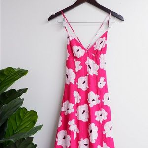 GORGEOUS NWT LEITH PINK FLORAL MAXI DRESS